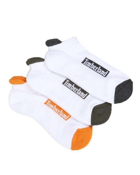 Timberland - 3PK NU No Show Socks