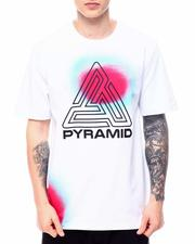 Black Pyramid - Spray Effect Maze Tee-2601656