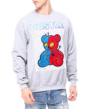 Sweatshirts & Sweaters - Chenille Hustle Teddy Crewneck Sweatshirt-2601583