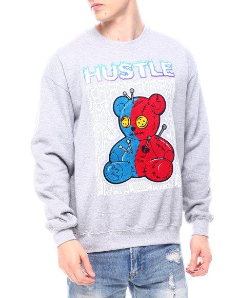 Buyers Picks - Chenille Hustle Teddy Crewneck Sweatshirt