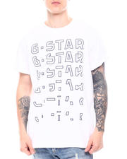 G-STAR - Embro gradient graphic lash ss Tee-2602933