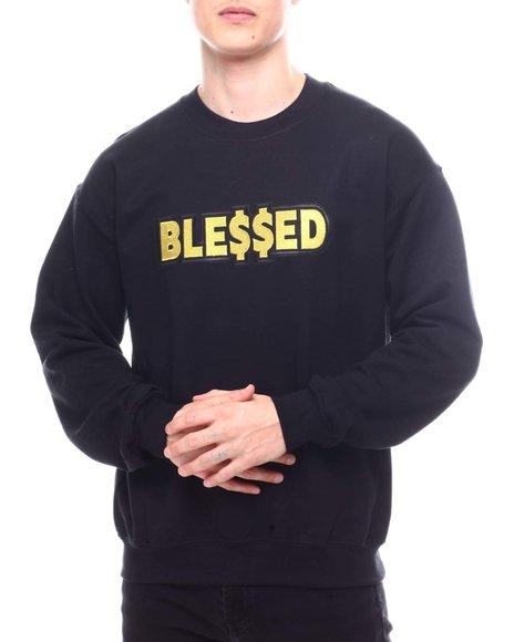 Buyers Picks - Blessed Embroidered Crewneck Sweatshirt