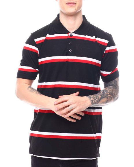 Buyers Picks - Bi Color Stripe Polo