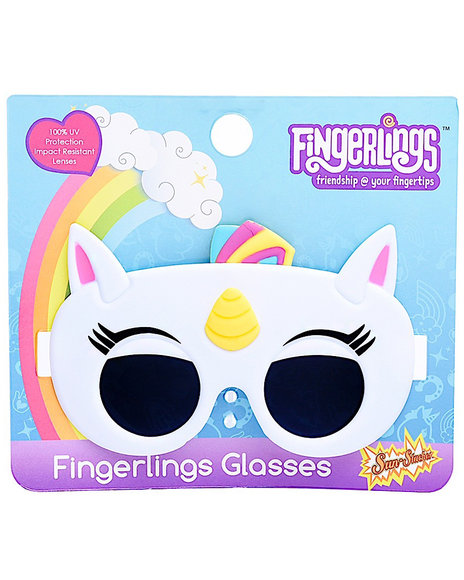Sun Staches - Unicorn Kids Sunglasses