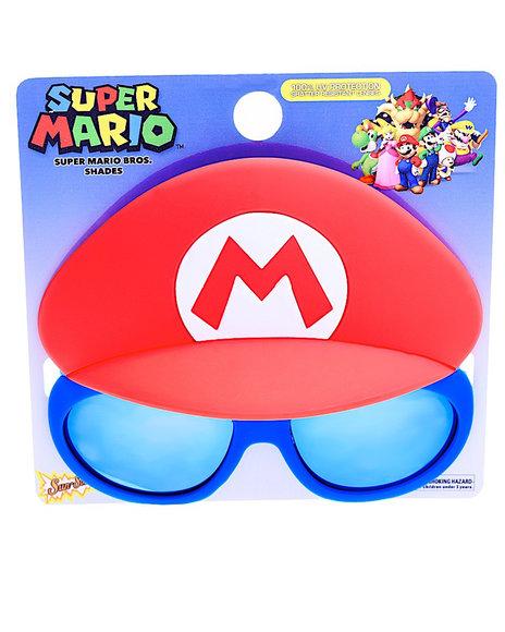 Sun Staches - Super Mario Kids Sunglasses