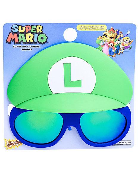 Sun Staches - Super Mario Luigi Kids Sunglasses