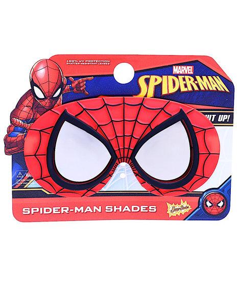 Sun Staches - Spiderman Kids Sunglasses