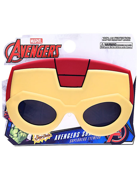 Sun Staches - Iron Man Kids Sunglasses