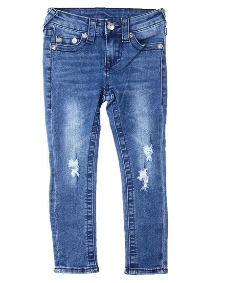 True Religion - SE Midnight Stitch Jeans (4-6X)