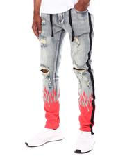 Cooper 9 - Flame Splatter Jeans-2603891