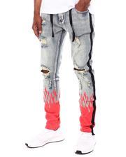 Jeans & Pants - Flame Splatter Jeans-2603891
