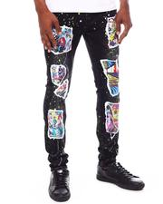 Cooper 9 - Pop Collage Graphic Jeans-2603910