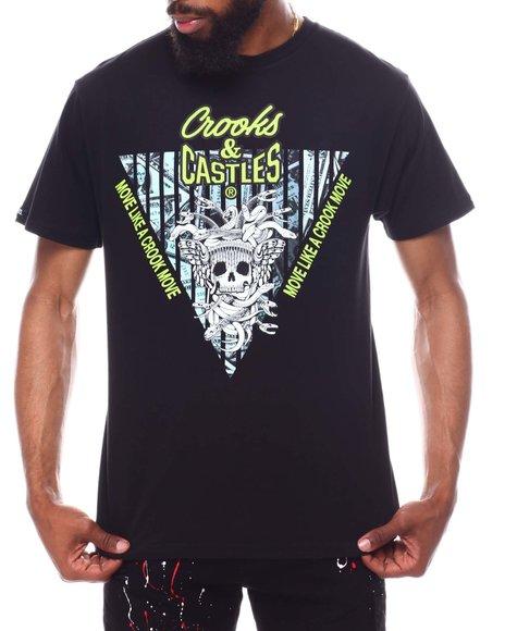 Crooks & Castles - SKULL REVERSE CORE LOGO TEE