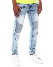 Jeans & Pants - Wash Distressed Moto Jean-2603170