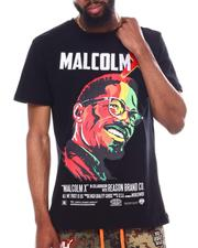 Reason - Malcolm X Embroidered Portrait Tee-2603393