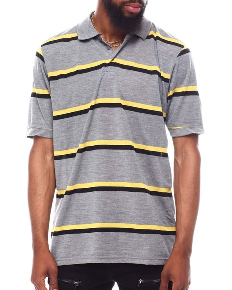 Buyers Picks - Bi Color Stripe Polo