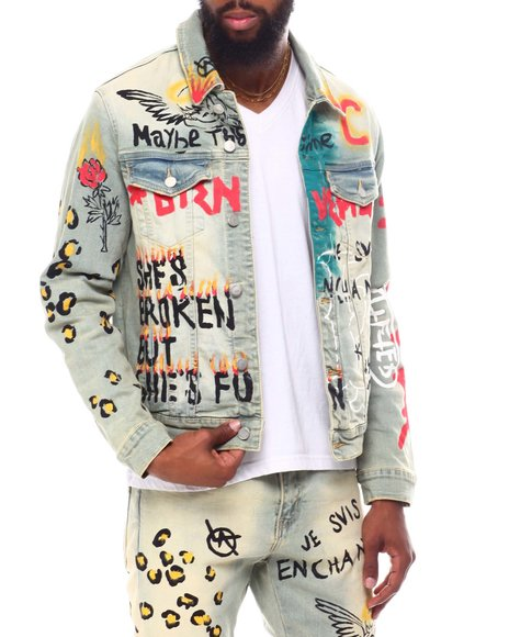 Lifted Anchors - Detention Denim Jacket