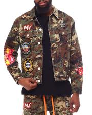 Denim Jackets - Epic Jacket Digital Camo-2603693