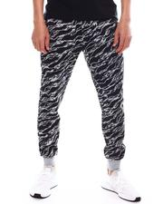 Buyers Picks - Zebra Print Jogger with Waxed Zipper Pockets-2603292