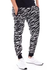 Buyers Picks - Zebra Print Jogger with Waxed Zipper Pockets-2603303