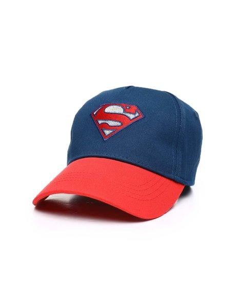 Arcade Styles - Superman Reflective Curve Brim Hat