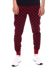 Buyers Picks - Checkered Flag Jogger w/ Waxed Zipper Pockets-2603250