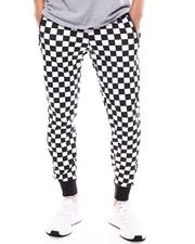 Buyers Picks - Checkered Flag Jogger w/ Waxed Zipper Pockets-2603222