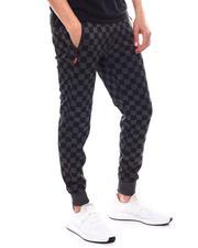 Buyers Picks - Checkered Flag Jogger w/ Waxed Zipper Pockets-2603234