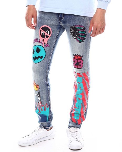 Cooper 9 - Realistic Graphic Jeans