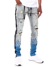 Cooper 9 - Flame Splatter Jeans-2603925