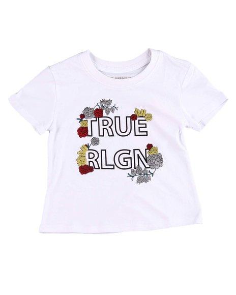 True Religion - Flower Tee (2T-4T)