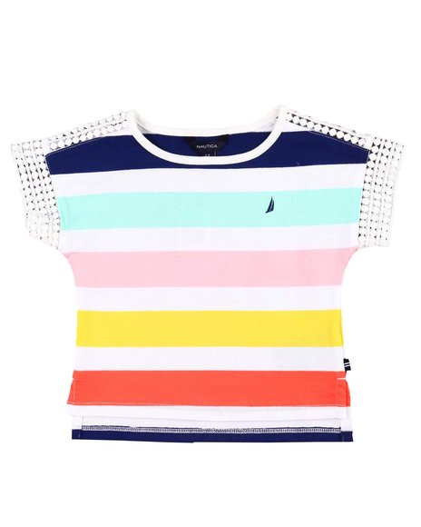 Nautica - Stripe Knit Top (2T-4T)