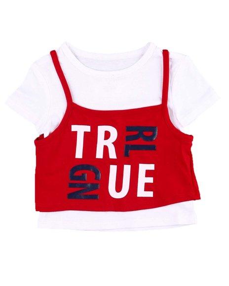 True Religion - HS Puzzle 2fer Tee (2T-4T)