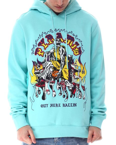 Black Pyramid - Out Here Ballin Hoodie