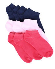 Fashion Lab - 10PK Solid Ankle Socks-2604610