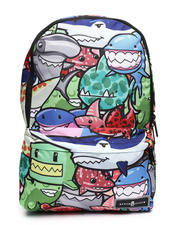 Space Junk - Weird Sharks Backpack (Unisex)-2604266