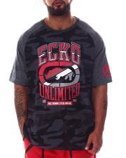 Ecko - Camo See Me Knit T-Shirt (B&T)-2600731