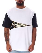 Rocawear - Side Note Crew T-Shirt (B&T)-2601196