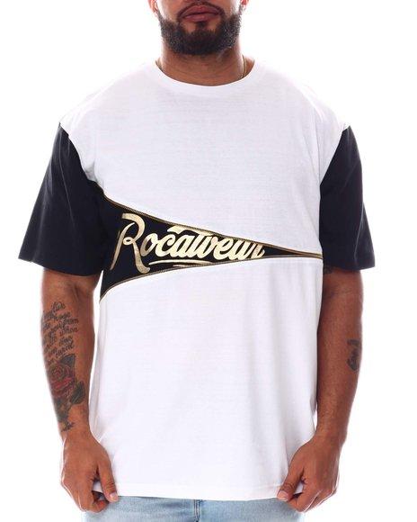 Rocawear - Side Note Crew T-Shirt (B&T)