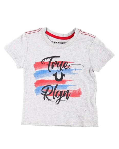 True Religion - 4th Stripe Tee (4-6X)
