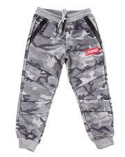 Boys - Legend Interlock Joggers (4-7)-2599055