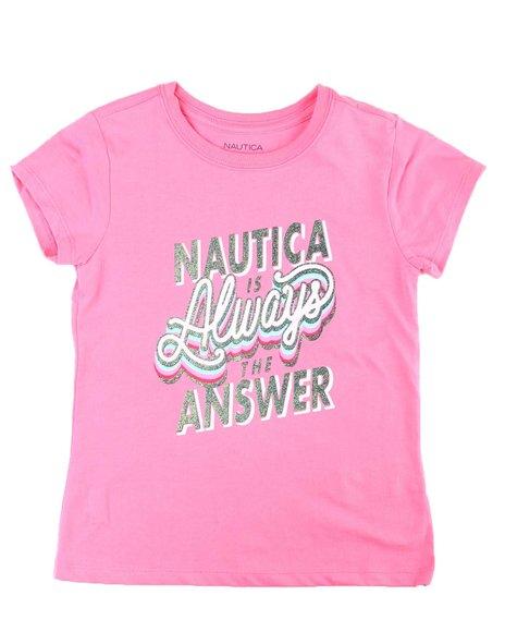 Nautica - Nautica is the Answer Tee (7-16)