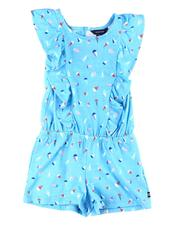 Rompers - Ruffle Printed Romper (2T-4T)-2599681