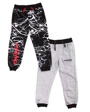 Boys - 2 Pk Savage Jogger Pants (4-7)-2599831