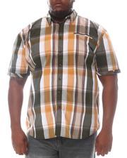 Button-downs - Plaid Short Sleeve Woven Shirt (B&T)-2604261