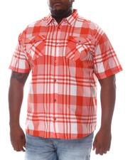 Button-downs - Plaid Short Sleeve Woven Shirt (B&T)-2606314