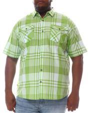 Button-downs - Plaid Short Sleeve Woven Shirt (B&T)-2606340
