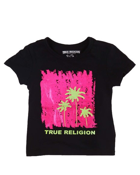 True Religion - Artsy Palm Tee (2T-3T)