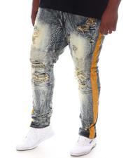Makobi - Moto Knee Side Stripe Biker Jeans (B&T)-2604491