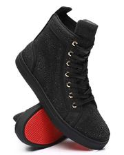 AURELIO GARCIA - Rhinestone Fashion Mid Top Sneakers-2606030